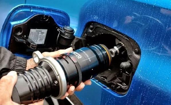 氢能源燃料电池汽车的储氢罐(以丰田