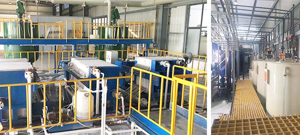 安徽潤和納米新材料污水處理工程