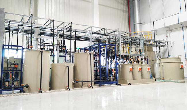 梅赛德斯奔驰汽车零部件废水零排放系统工程