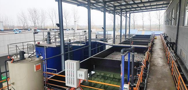 扬州景杨表面工程电镀废水处理工程