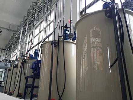 上海汉钟精机乳化液废水处理工程