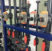 青岛高测科技电镀废水处理工程