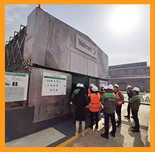 上海维美德参观考察西安工厂废水零排放工程